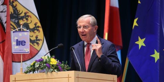 Wilfried Haslauer, Landeshauptmann von Salzburg