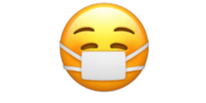 Das ist das neue, fröhliche Masken-Emoji
