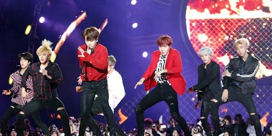 Das Management der siebenköpfigen Boyband aus Korea ging nun an die Börse.