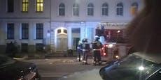 Feuerwehr rückt zu Kellerbrand in Rudolfsheim aus