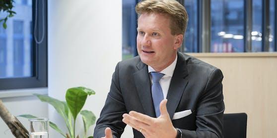 Georg Knill (47), neuer Präsident der Industriellen-Vereinigung