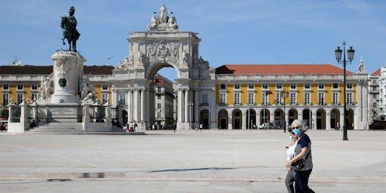 Die Bundesregierung warnt vor nicht notwendigen, touristischen Reisen in die Region Lissabon.