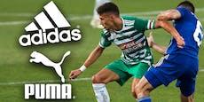 Adidas-Ära vorbei! Rapid bekommt neuen Ausrüster