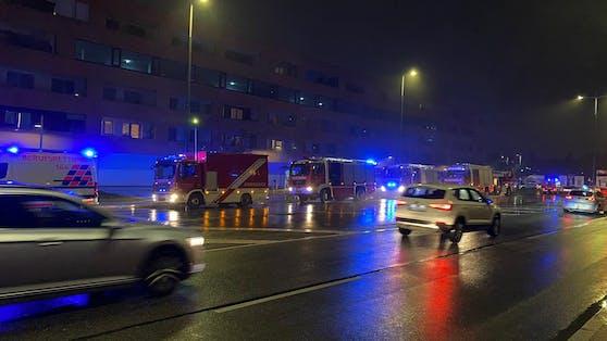 Feuerwehr-Einsatz in Wien-Liesing