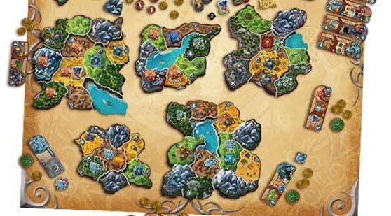 "In ""Small World of Warcraft"" wird Azeroth in Inseln zerbrochen."