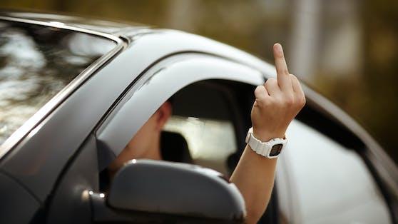 Symbolbild: Aggression auf der Straße