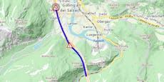 Lkw-Unfall legt Tauern Autobahn Richtung Villach lahm