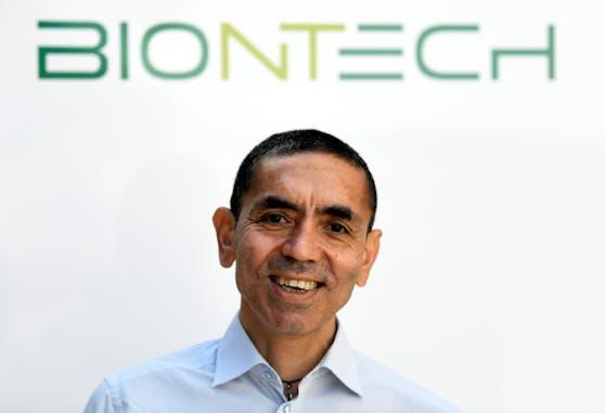 Ugur Sahin, Vorstandsvorsitzender des Pharmaunternehmens Biontech