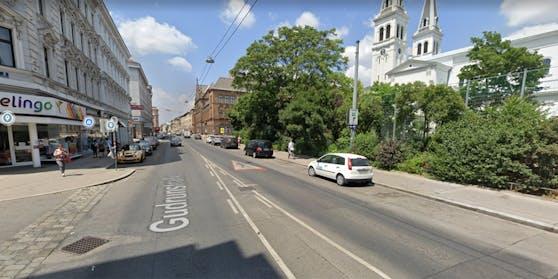 Der Vorfall ereignete sich in der Gudrunstraße in Wien-Favoriten.