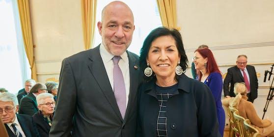 Danielle Spera und Ehemann Martin Engelberg