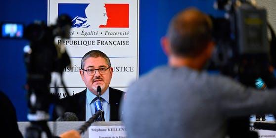 Staatsanwalt in Lorient, Stephane Kellenberger