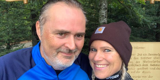 Hans Peter Doskozil und seine Verlobte Julia Jurtschak