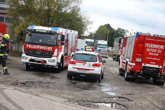 Trotz des Einsatzes zweier Feuerwehren, des Rettungsdienstes und eines Notarztes kam für den verunfallten Mann jede Hilfe zu spät.