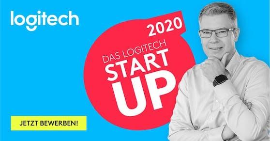 """Frank Thelen und Logitech suchen den """"Startup Partner 2020""""."""