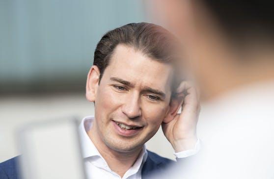 Darf weiter auf einen komfortablen Vorsprung bauen: Kanzler Sebastian Kurz (ÖVP),