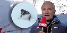 ORF-Mann rutscht in Sölden im Steilhang aus