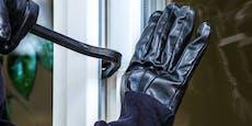Hausbewohner ertappt Einbrecher in flagranti