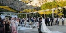 80 bei Hochzeit – nun hohe Geldstrafen für Gäste