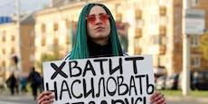 """""""Stoppt die Vergewaltigung von Belarus"""""""