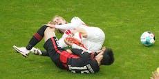 1:1! Frankfurt lässt gegen Köln Punkte liegen