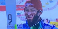 Schweizer Ski-Ass schreckt Fans mit Corona-Maske