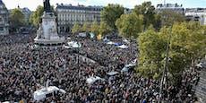 Tausende demonstrierten am Sonntag in Paris