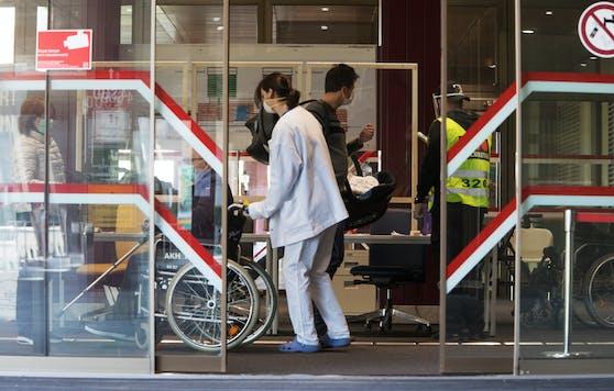 In Österreich könnte das Gesundheitssystem überlastet werden.