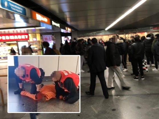 Am Samstag ereigneten sich dramatische Szenen am Wiener Westbahnhof.