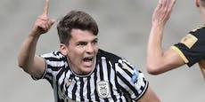 Ex-Rapidler Murg rettet PAOK bei Debüt einen Punkt