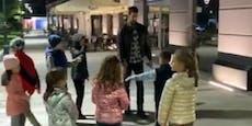 Djokovic erntet Shitstorm für Spaziergang durch Belgrad