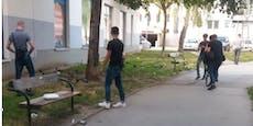 Brandanschlag! Wiener Polizei sucht nach diesen Männern