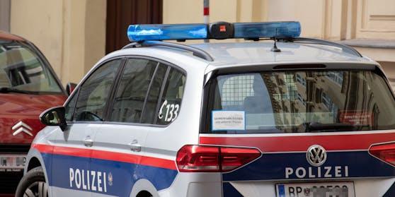 Die Polizei musste mit einem Streifenwagen ausrücken.