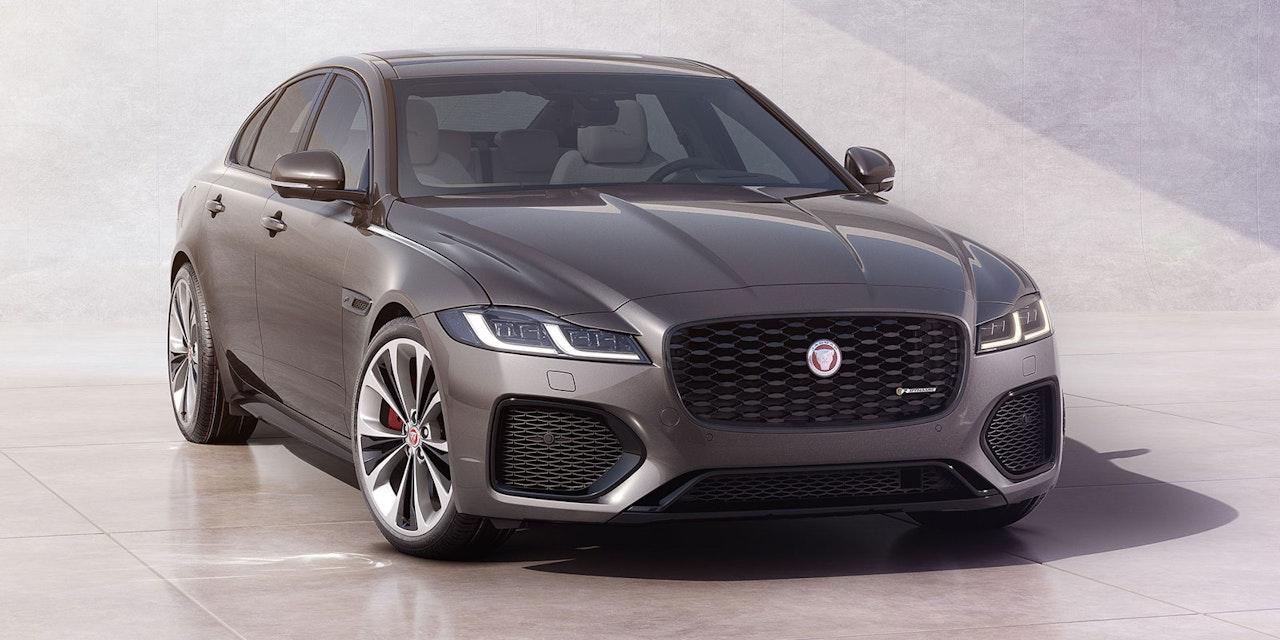Jaguar XE und XF bekommen eine Auffrischung für 2021 ...