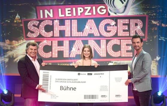 "Geschafft! Marie Reim gewinnt bei Florian Silbereisens ""Schlagerchance"""