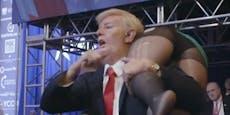"""Borat"" narrt US-Vize in Donald-Trump-Kostüm"