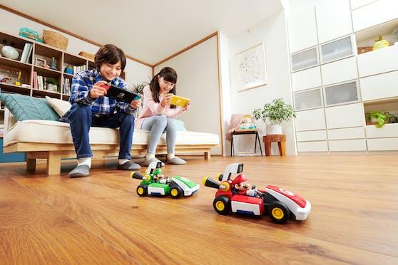 Erlebe Mario Kart in deinem Wohnzimmer!