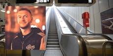 Pensionist stürzte auf Rolltreppe, Wiener half sofort