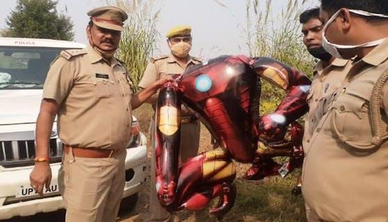 """Der """"Außerirdische"""" war in Wirklichkeit ein """"Iron Man""""-Luftballon"""