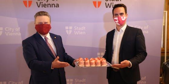 SPÖ und NEOS geben am Montag die Einigung über ihre Koalition bekannt.