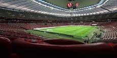 Zweite Welle – Polen plant Lazarett in Nationalstadion