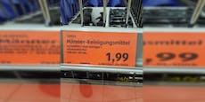 Supermarkt verkauft Spezial-Putzmittel nur für Männer