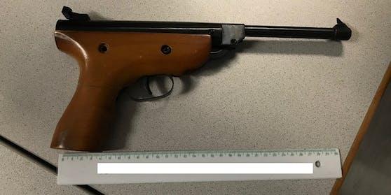 Mit dieser Waffe wurde ein 26-Jähriger bedroht.