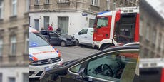 VW-Fahrer kracht in Donaustadt frontal in Lieferwagen