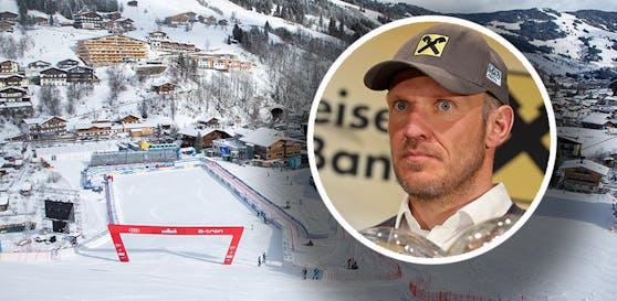 Hermann Maier kommt im Werbe-Video von Saalbach-Gegner Garmisch vor.