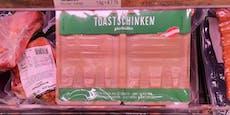 Wiener Supermarkt verkauft Toastschinken ohne Schinken