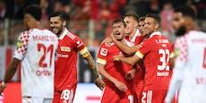 Zwei Trimmel-Assists! Union zerlegt Mainz mit 4:0