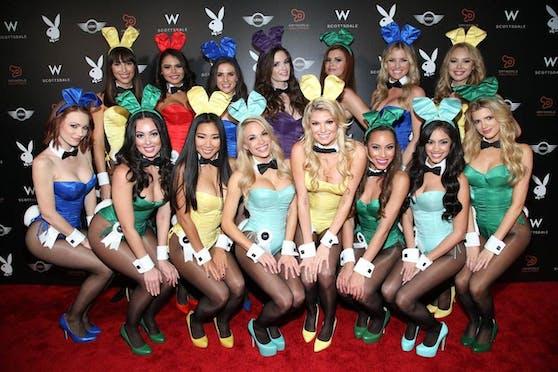 """""""Playboy"""" prägte mit Großaufnahmen der sogenannten """"Hasen"""" über Jahrzehnte das Erotikgeschäft."""