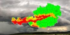 Vorsicht! Sturm-Warnung für gleich sechs Bundesländer