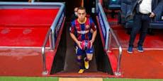 Barcelona-Neuzugang blamiert sich bei der Vorstellung