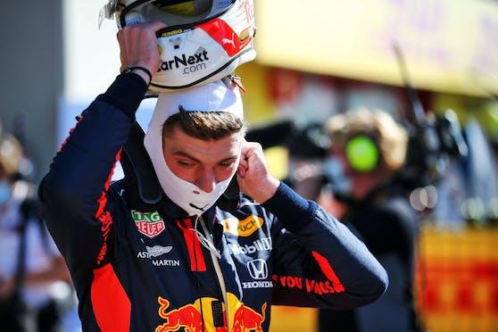 Red-Bull-Ass Max Verstappen hat eine Motoren-Klausel.